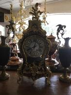 Boulle clock  Click photo for more details