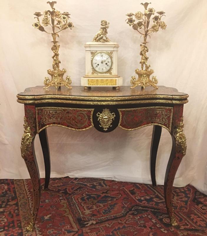 Play table boulle